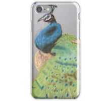 Melting Peacock  iPhone Case/Skin