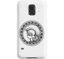 Athena/Minerva - black Samsung Galaxy Case/Skin