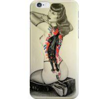 Tattooed Bettie  iPhone Case/Skin
