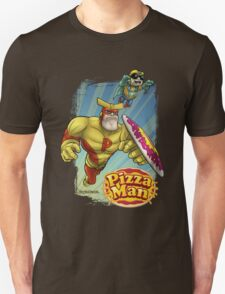 Pizza Man Leaping T-Shirt