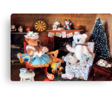 ~ What if we existed just for Christmas, in a breadbox?! ~ Canvas Print