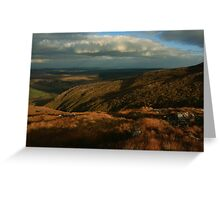 The Way Down From Croaghconnellagh Greeting Card