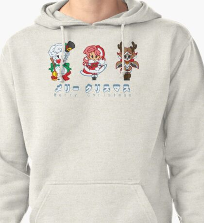 A Very Chibi Christmas Pullover Hoodie