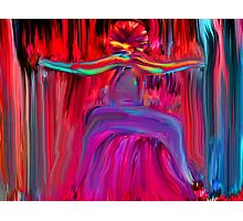The Dancing Man Photographic Print