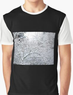 Winter scene Graphic T-Shirt
