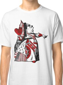 Queen of Hearts Alice in Wonderland Classic T-Shirt