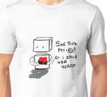 Stolen Legs Stolen Heart Unisex T-Shirt