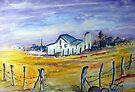 An old farmhouse by Elizabeth Kendall