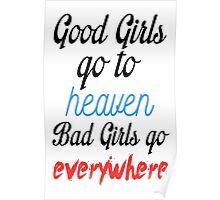 Good Girls Bad Girls Poster