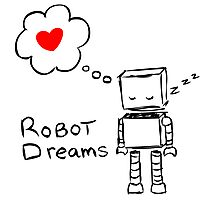 Robot Dreams Photographic Print