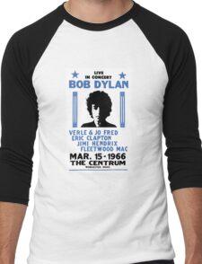 Bob Dylan Concert 2 Men's Baseball ¾ T-Shirt