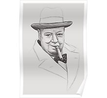 Mr. Churchill Poster