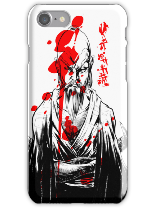 SONS OF FATE Tee [the master's resolve ] cell case by japes74