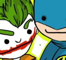 Batman&Joker Sticker