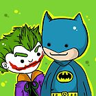 Batman&Joker by DeePeeIllustr
