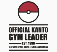 POKEMON KANTO GYM LEADER by kyubara