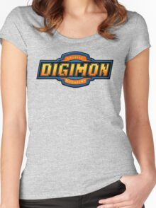 Digimon Women's Fitted Scoop T-Shirt