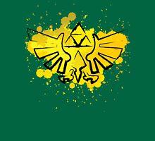 Hyrule Crest Splat T-Shirt
