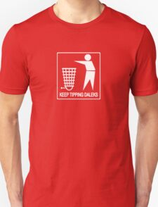 Keep Britain Tidy, Safe and Free Of Genocidal Aliens (White) T-Shirt