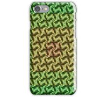 Seamless Geometric In Ochre, Lime and Green iPhone Case/Skin