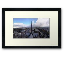 Autum in Paris Framed Print