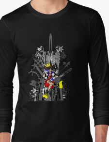 Kingdom Hearts: Game of Hearts Color Long Sleeve T-Shirt