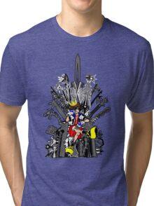 Kingdom Hearts: Game of Hearts Color Tri-blend T-Shirt