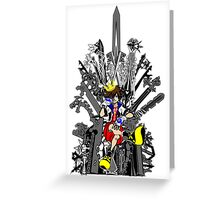 Kingdom Hearts: Game of Hearts Color Greeting Card