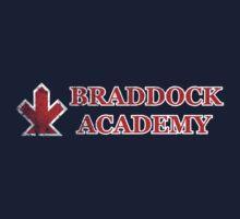 "Captain Britain's ""Braddock Academy"" Kids Tee"