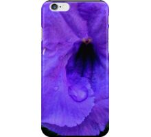 Indigo Swirl iPhone Case/Skin