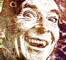 Kenneth Williams by OTIS PORRITT