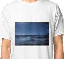 Misty Moonlit Valley Classic T-Shirt