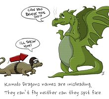 Komodo Dragons by EpicLabTime