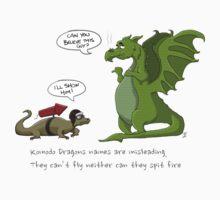 Komodo Dragons Kids Clothes