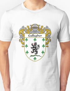 Gallagher Coat of Arms/Family Crest T-Shirt