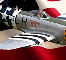 P-47 Thunderbolt American Airpower Sticker