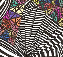 Black and White with a Bit 'O Color by Mary Pat Nally