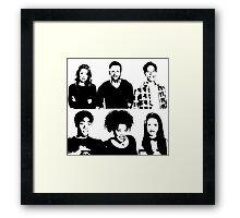 Community Things Framed Print