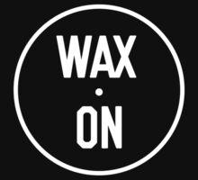 Wax On Logo White by waxondjs