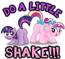 DO A LITTLE SHAKE!! by ImAleximusPrime