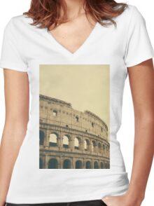 Coliseum Women's Fitted V-Neck T-Shirt