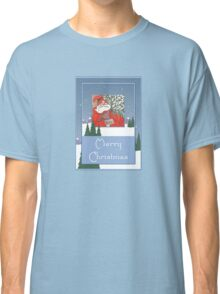A Traditional Merry Christmas Greeting Classic T-Shirt