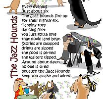 The Jazz Hounds by Diana-Lee Saville
