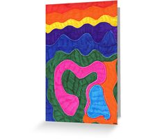 Love is all there is Greeting Card