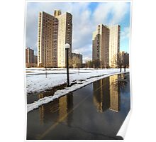 Bronx reflections Poster
