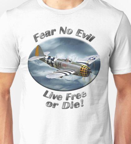 P-47 Thunderbolt Fear No Evil Unisex T-Shirt