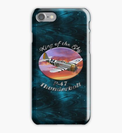 P-47 Thun derbolt King of the Sky iPhone Case/Skin