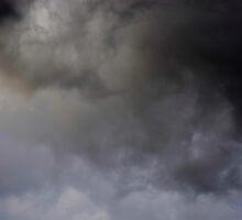 Sun behind the hailstorm by peterhau