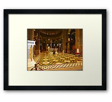 The Cathedral Of Saint Nicholas Framed Print