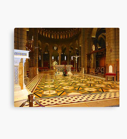 The Cathedral Of Saint Nicholas Canvas Print
